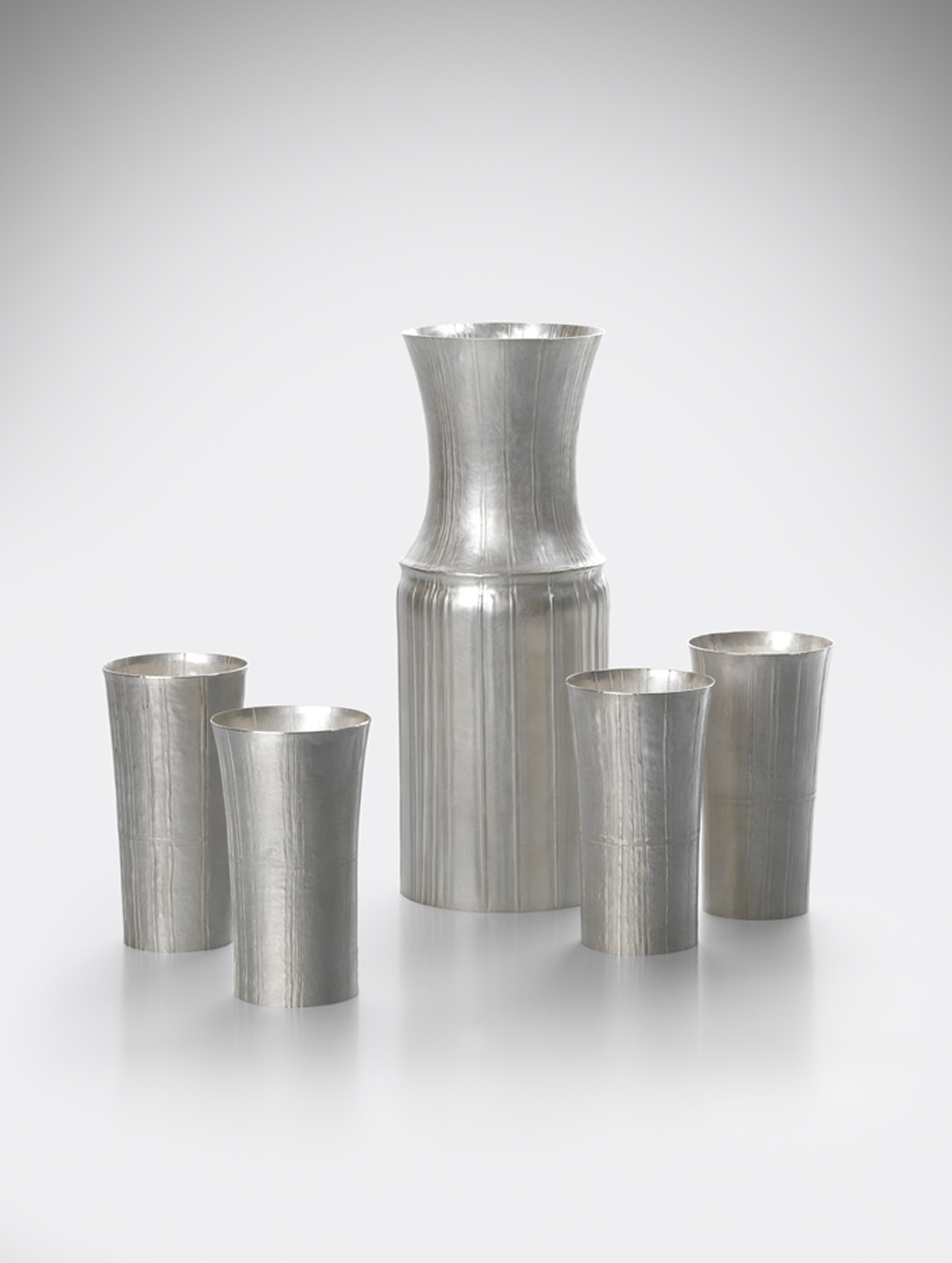 Pleated Silver work